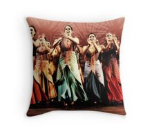 Spanish Dancers Throw Pillow