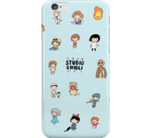 Studio Chibi V2 iPhone Case/Skin