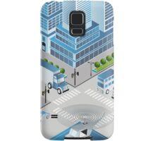 Urban crossroads Samsung Galaxy Case/Skin
