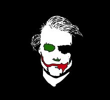The Joker Coloured - Heath Ledger (The Dark Knight) by phenommachine