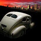 Racing the sunset by Matt Mawson