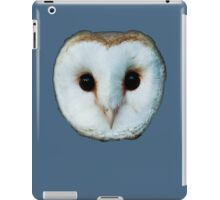 The Face of a Barn Owl iPad Case/Skin