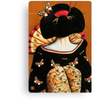 Geisha Girl Prints Canvas Print