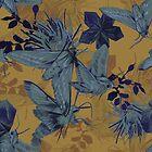 Heteroceras - Velvert Moths Pattern by lascarlatte