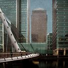 Canary Wharf by Anette Tyler