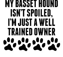 Well Trained Basset Hound Owner by kwg2200