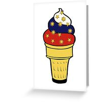 Pinoy Cone Greeting Card