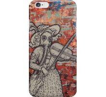 The Violin Player iPhone Case/Skin