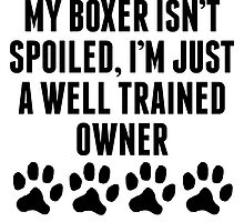 Well Trained Boxer Owner by kwg2200