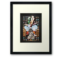 Mouse in the city Framed Print
