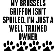 Well Trained Brussels Griffon Owner by kwg2200