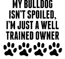Well Trained Bulldog Owner by kwg2200