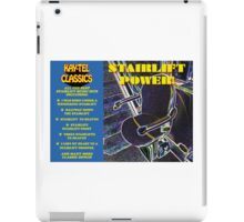 STAIRLIFT POWER - classic tracks from Kay-Tel iPad Case/Skin