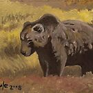Autumn Splendor - Brown Bear by John Houle