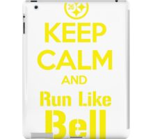 Keep Calm and Run Like Bell .1 iPad Case/Skin
