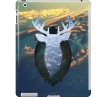 Taxidermy in the sky iPad Case/Skin