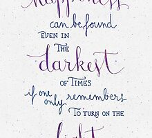 "Harry Potter ""Happiness can be found ..."" by earthlightened"