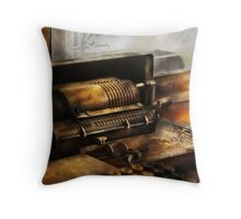 Accountant - The Adding Machine Throw Pillow