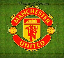 Manchester United Theater of Dreams by damhotpepper