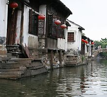 Traditional Houses in Zhouzhuang, China by Daniel Rodgers