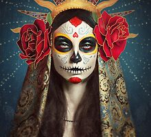 Sugar Skull Phone & Tablet Cases by Retouching  Academy