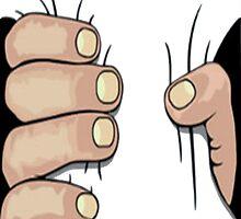 Hand Gripping (White) by katieehr2000