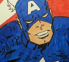 Captain America by jmck965