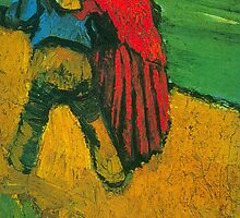 'Two Lovers' by Vincent Van Gogh (Reproduction) by Roz Abellera Art