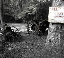 Keep Off the Equipment by Scott Hansen