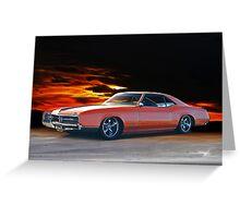 1966 Buick Riviera Custom Greeting Card