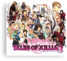 Tales Of Xillia 2 Characters Canvas Print