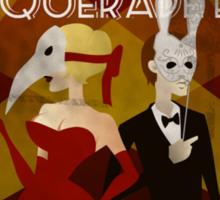 Bioshock: Masquerade propaganda Sticker