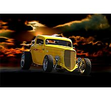1934 Ford 'HiBoy' Coupe II Photographic Print