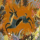Gazelle by Karl James Mountford
