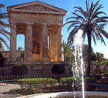 Valletta, lower Baracca Gardens by DiveDJ