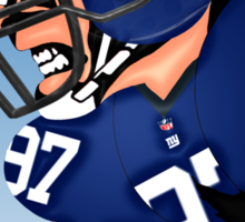 NFL New York Giants Sticker