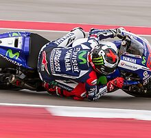 Jorge Lorenzo at Circuit Of The Americas 2014 by corsefoto