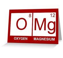 O-Mg - Oxygen Magnesium Greeting Card
