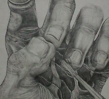 Artistic Touch (Drawing)- by Robert Dye