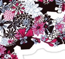 Flowerfly (white variant) Sticker