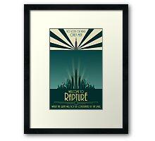 Bioshock 1: Poster Framed Print