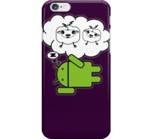 do androids dream electric sheep? iPhone Case/Skin