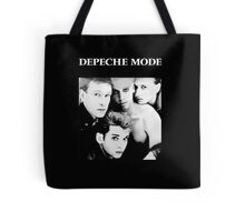 Depeche Mode : Single 81-85 Black - Paint B&W - With name Tote Bag