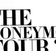 The Honeymoon Tour w/ Ariana (Shade White Only) Sticker