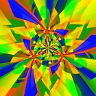 Multiple Swirls of Color by Penny Marcus