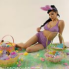 Sabella the Easter Bunny by Danielle Emerick
