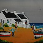 Fishermen Paternoster  by christiaan-art venter