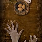 A mouse, a nest and greedy hands by Kurt  Tutschek