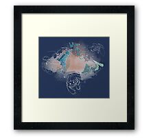 Toothless and Stitch - Where no one goes Framed Print