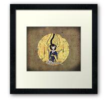 Goddess of Robotic Geishas Framed Print